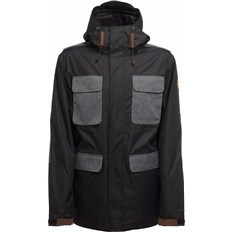 bunda SESSIONS - Airborn Jacket Black (BLK)