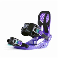 vázání NIDECKER - Bindings Glam Purple Purple (PURPLE)