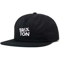 kšiltovka BRIXTON - Fragment Mp Snbk Black-White (BKWHT)