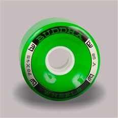 kolečka BUDDHA WHEELS - Fukyo 70mm 85A (GRN)