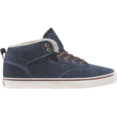 boty GLOBE - Motley Mid Navy/Brown/Fur (13246)