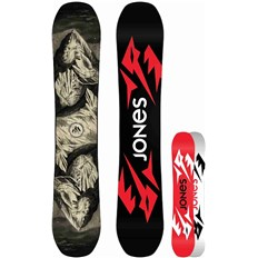 snowboard JONES - Ultra Mountain Twin Black (BLACK)