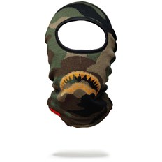 kukla SPRAYGROUND - Gold Knit Shark Mouth Ski Mask (000)