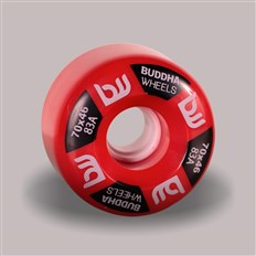 kolečka BUDDHA WHEELS - Sogi 70mm 83A (RED)