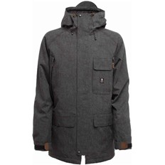 bunda SESSIONS - Supply Jacket Black (BLK)