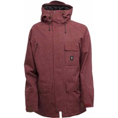 bunda SESSIONS - Supply Jacket Burgundy (BUR)