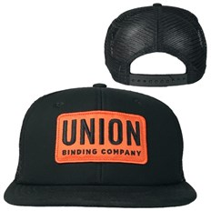 kšiltovka UNION - Trucker Hat - Patch Black (BLACK)